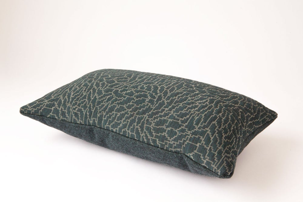 Image of Green Forest Cushion Cover - Rectangular