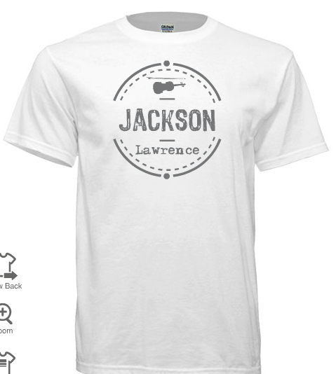 Image of Jackson logo shirt