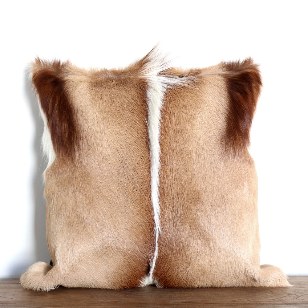 Image of Natural Springbok Cushion