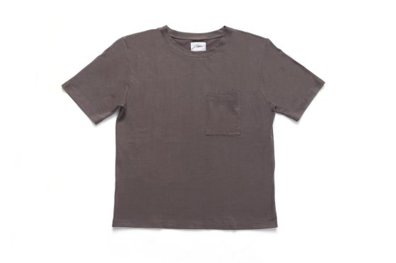Image of HEAVY DOUBLE POCKET T-SHIRT - DUST