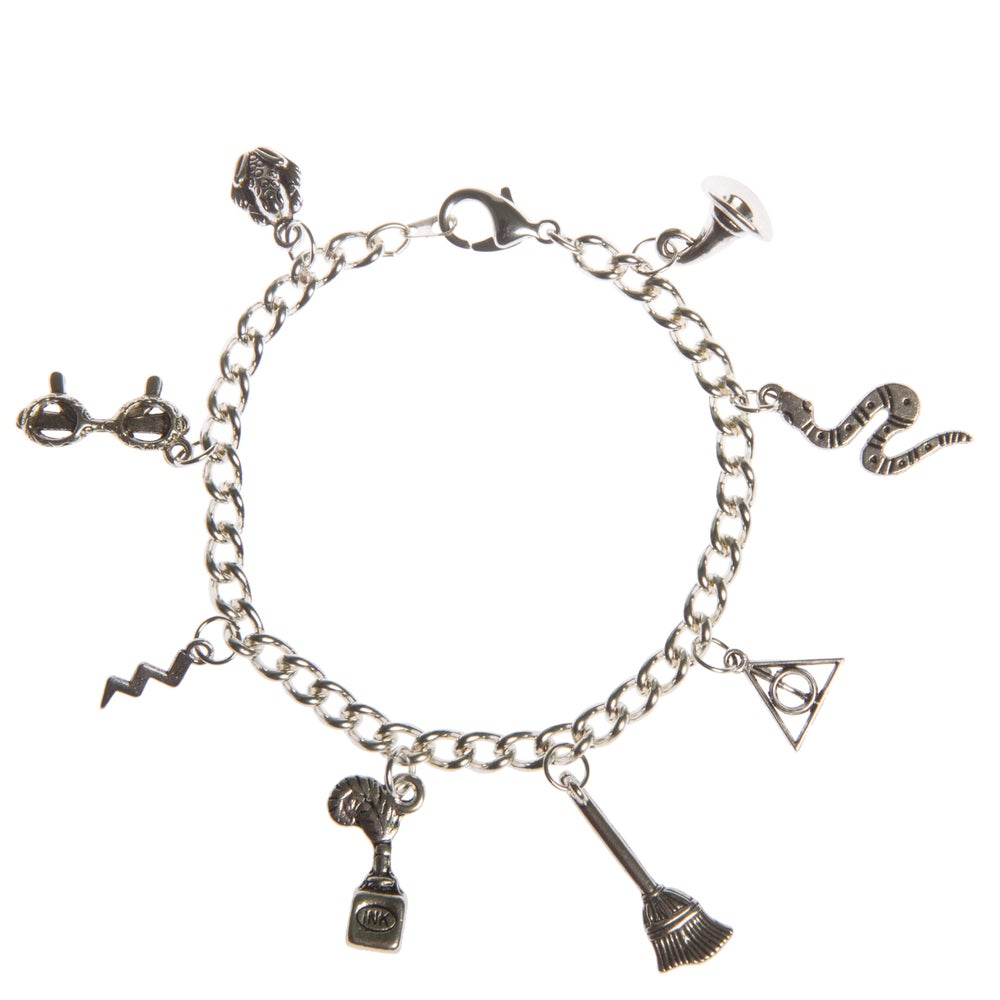 Image of Harry Potter Theme Charm Bracelet