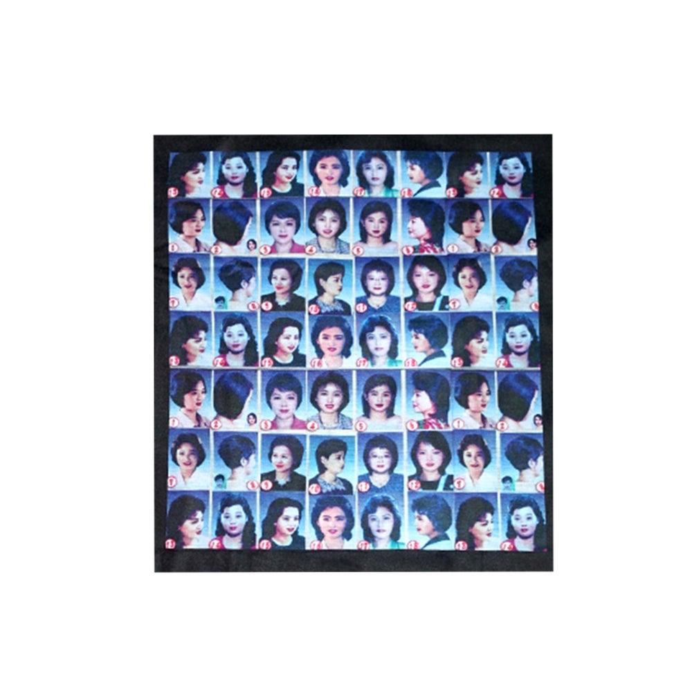 Image of DVMVGE PyongYang' DPRK Hair Style chart Tee