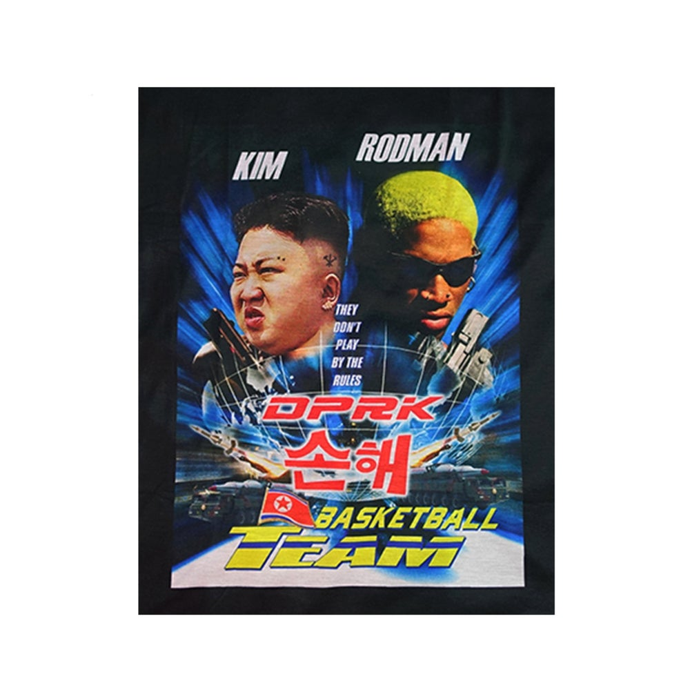Image of DVMVGE PyongYang' KIM x RODMAN Tee