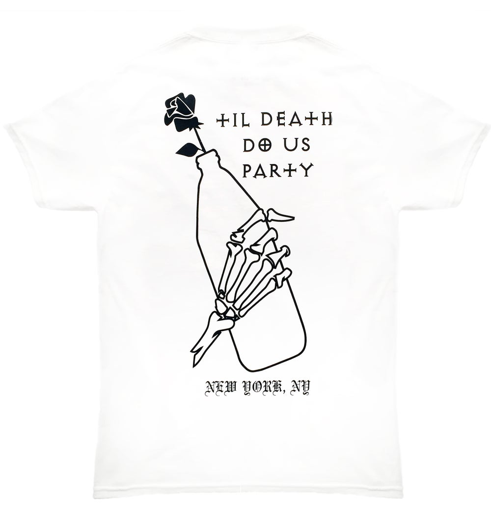 Image of Til Death Do Us Party Tee