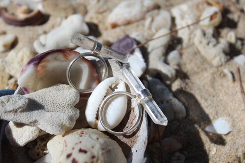 Image of Clarity - Crystal shard ring