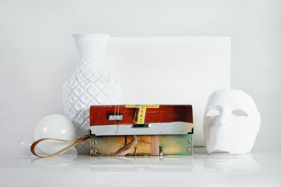 Image of 90's lover / Clutch Bag / Single button