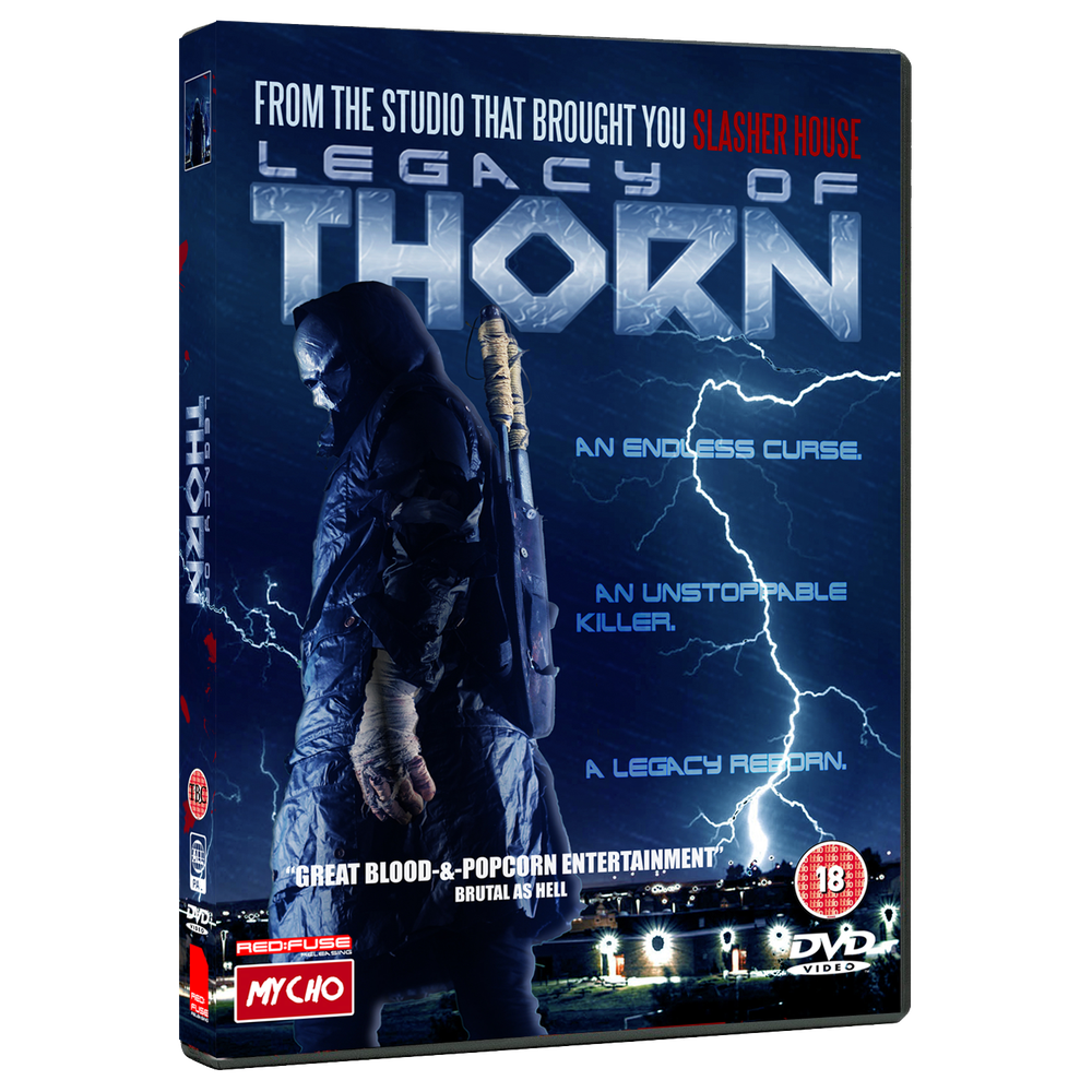Image of LEGACY OF THORN - UK DVD