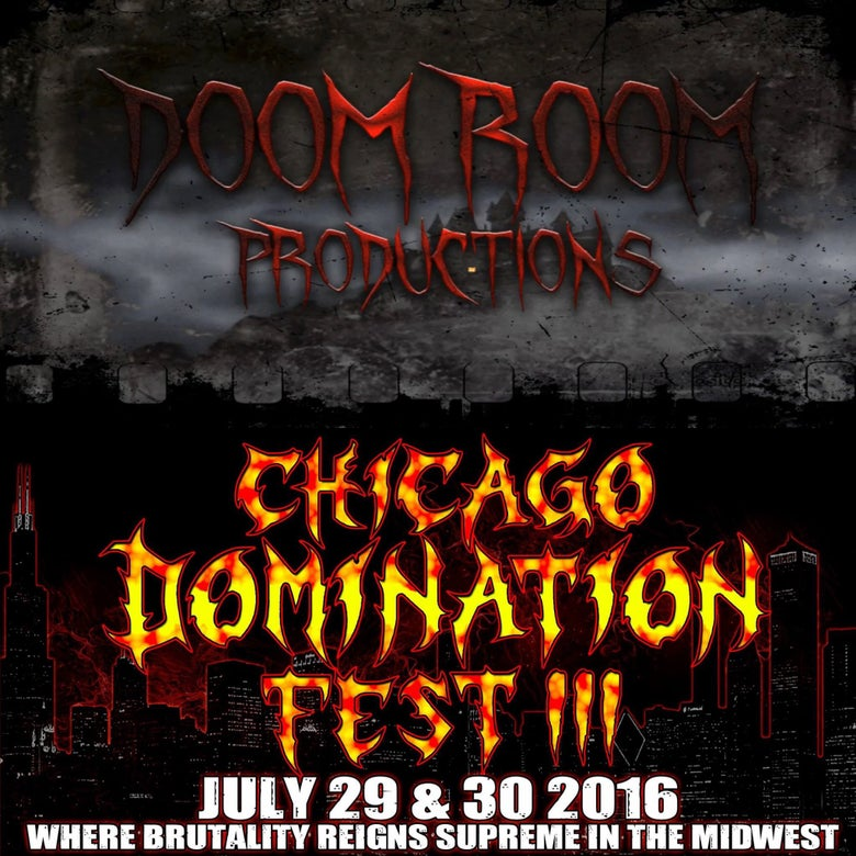 Image of Chicago Domination Fest 3 DVD