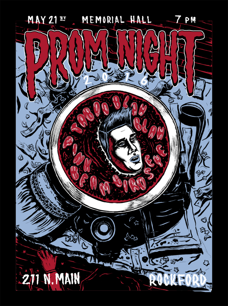 Image of prom night show poster