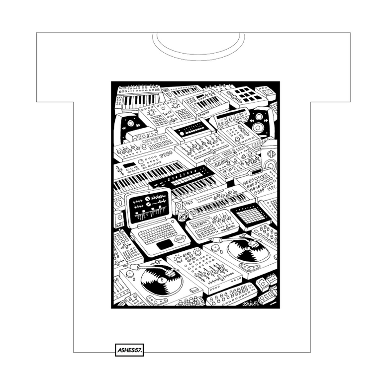 Image of ashes57  t-shirt 014