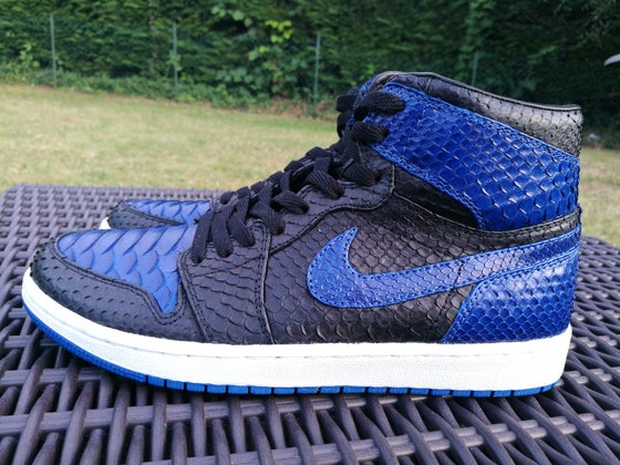 Image of Jordan 1 Royal Blue Full Pyhton