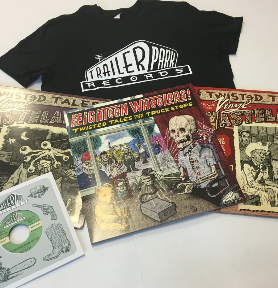 "Image of Vinyl Wastelands - Super Bundle [3LPs + T-Shirt + 7"" 45 RPM]"