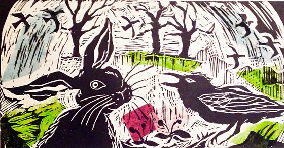 Image of Tête-à-Tête: the Hare and the Crow (colour edition)
