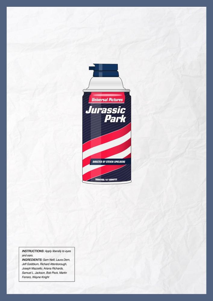 Image of Jurassic Park poster