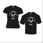 Image of Vicious Black Tee-Shirts