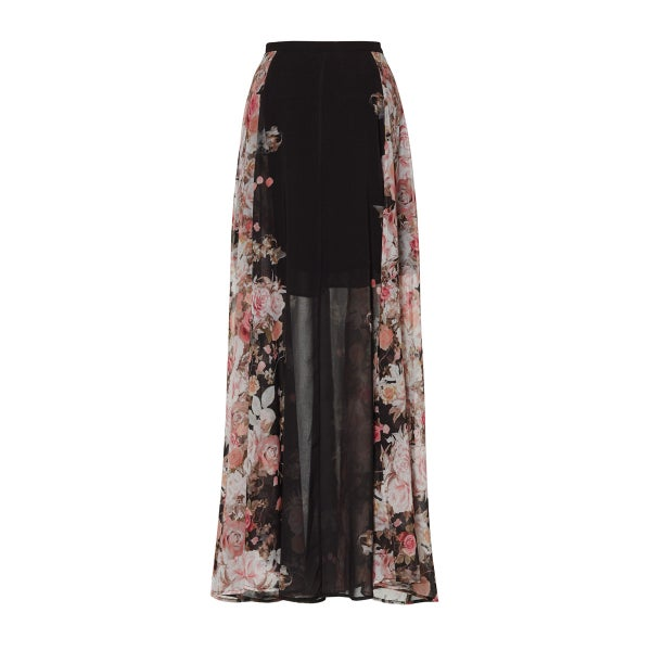Image of Betty Mazi Skirt - Nior Cascade Floral
