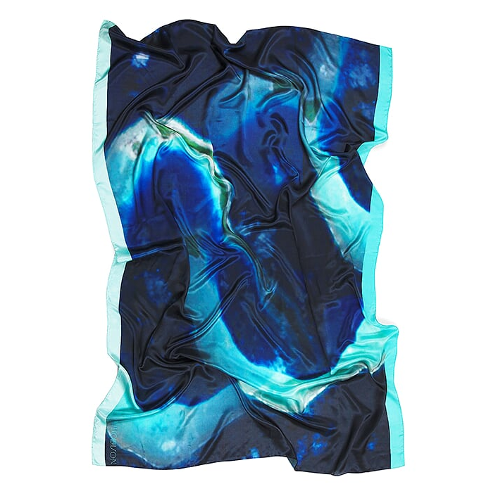 Image of Great Barrier Reef | BLUE ATOLL SILK