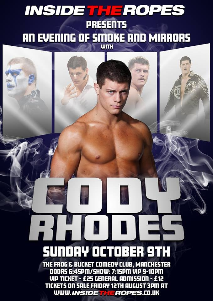 Image of Cody Rhodes: Manchester