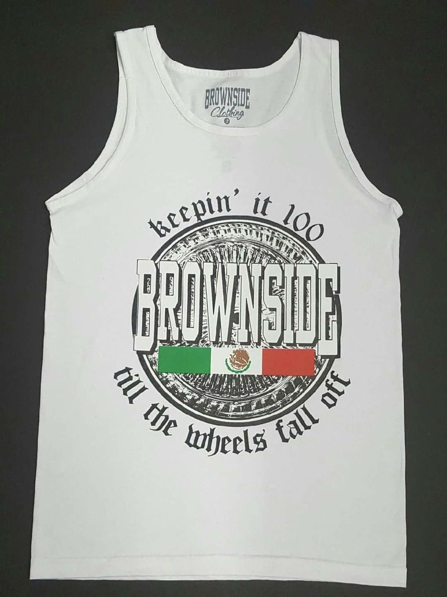 Image of Till The Wheels Fall Off Men Tank Tops