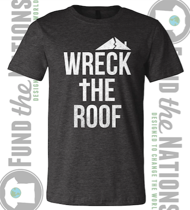 Image of Wreck The Roof - Charcoal