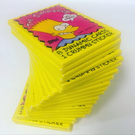 Image of 1990's Sealed Topps Trading Cards