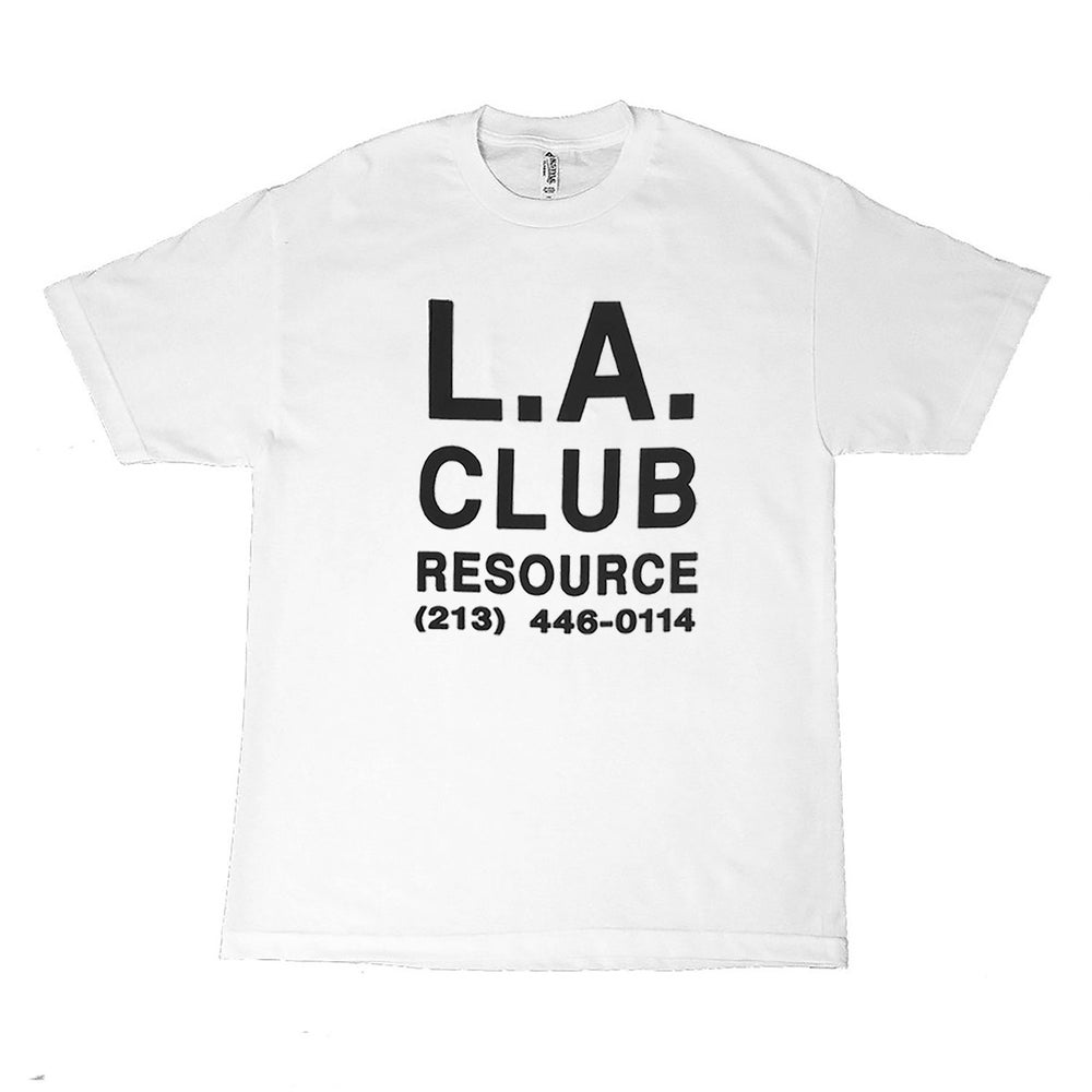 Image of LACR TEE [WHITE]