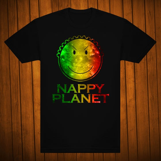Image of Men Rasta logo black