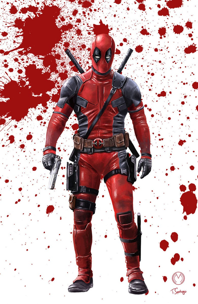 Image of Deadpool Print 3