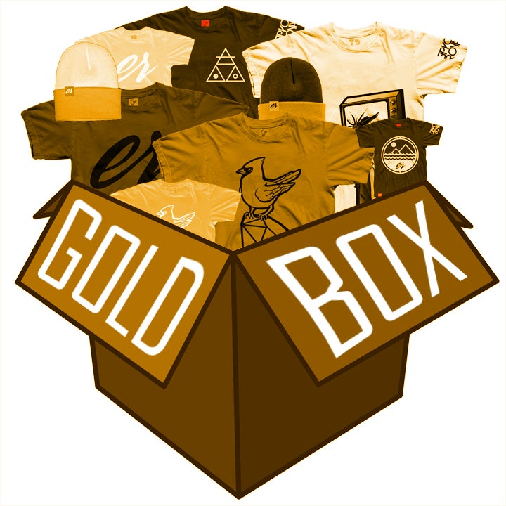 Image of Gold Box ($200 worth of gear for $100)