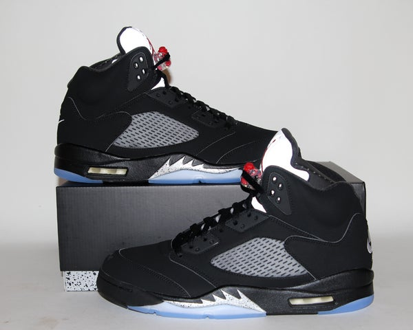 Image of Air Jordan 5 (V) Retro OG Black Metallic