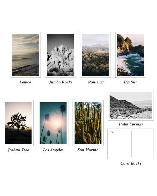 Image of California Postcard Set