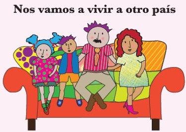 Image of Cuentos Infantiles Electrónicos: NOS VAMOS A VIVIR A OTRO PAÍS