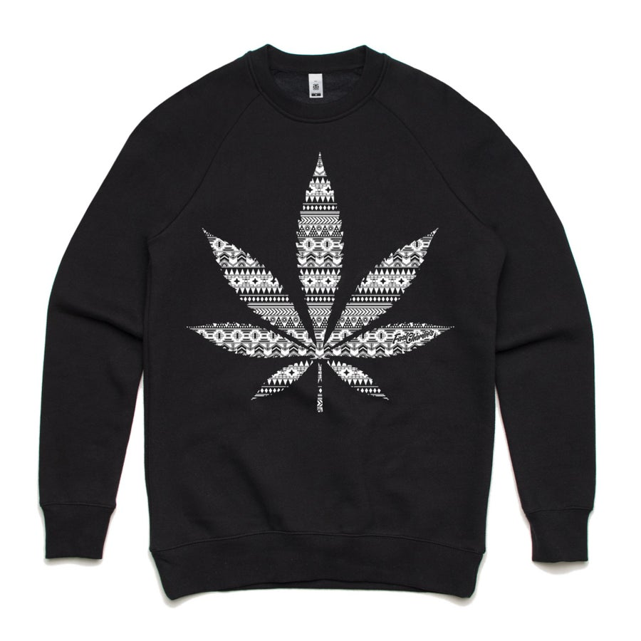 Image of Aztec Crew Neck Sweater - Unisex