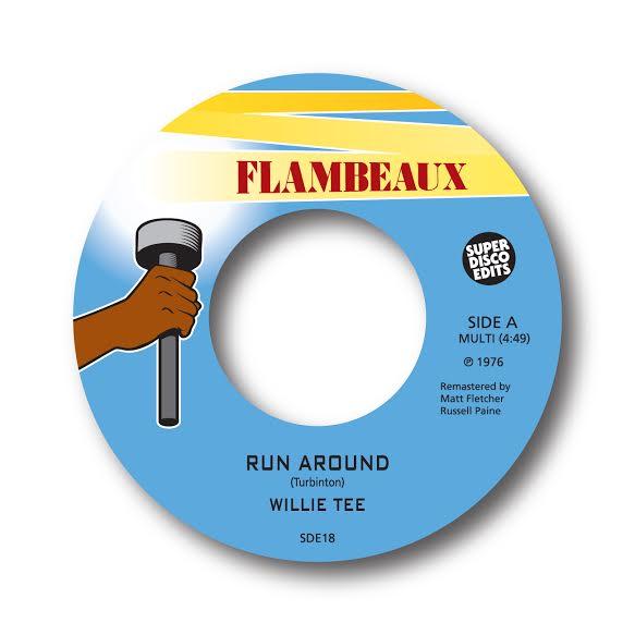 """Image of willie tee """"run around"""" flambeaux"""
