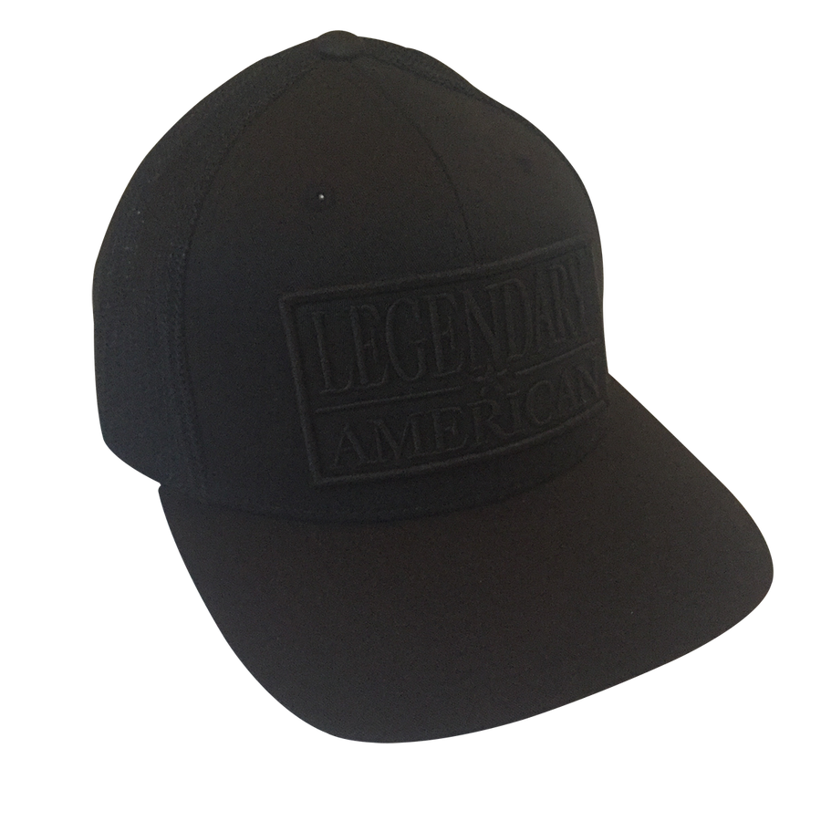 Image of Legendary American Patch Flexfit Trucker in Black