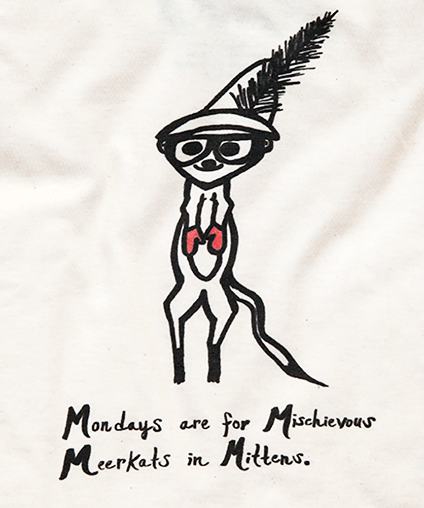 Image of MEERKAT MONDAYS TEE