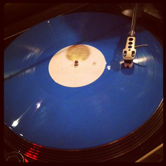 Image of THE FLOAT LP - !COLORED OPAQUE BLUE VINYL! - La Castanya Records Barcelona