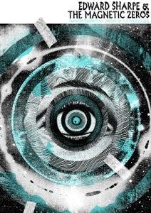 Image of Edward Sharpe & the Magnetic Zeros Poster - Islington Assembly Hall, London 2016