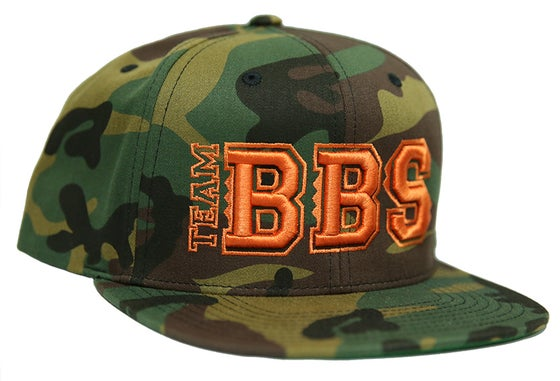 Image of Team BBS Camo Snapback