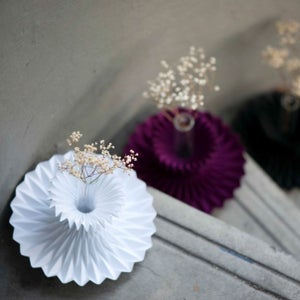Image of Fraise: Ornamental Paper Vase / Shade