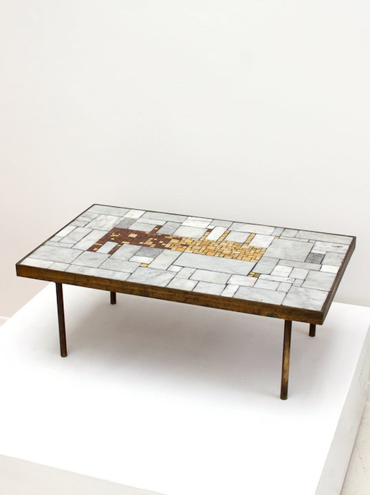 Image of Mosaic Side Table by Berthold Müller