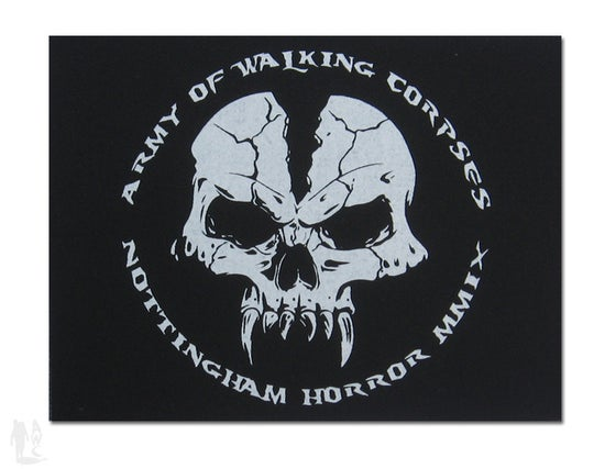 Image of 'Notts Horror' patch