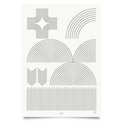 Image of Land Print