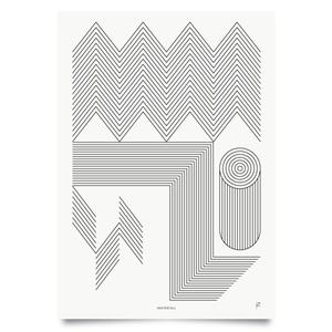 Image of Waterfall print