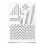 Image of Coast print