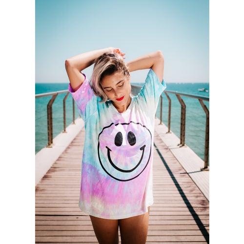 "Image of Camiseta tie dye ""GOOD VIBES ONLY"""