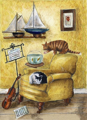 Image of The Cat and The Fiddle