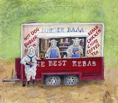 Image of Burger Baa Giclee