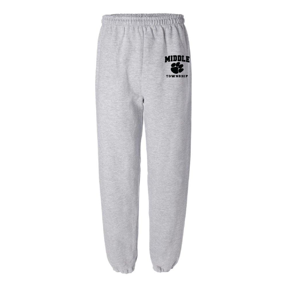 Image of Sweatpants w/ Athletic Logo (Gray)