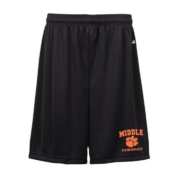 Image of Shorts w/ Athletic Logo (Black)
